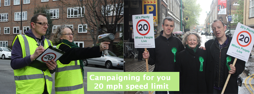 20 mph speed limit in Tower Hamlets