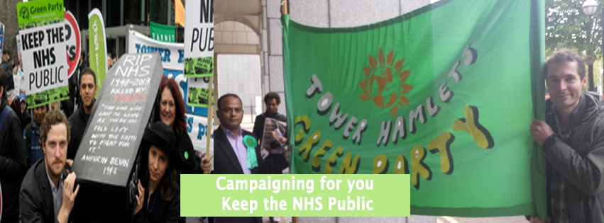 NHS Protest Tower Hamlets